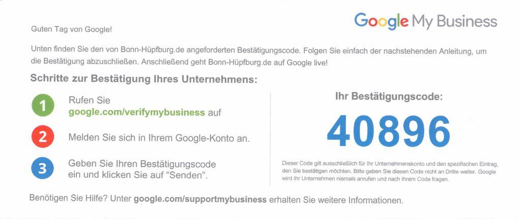 Google MyBusiness 1